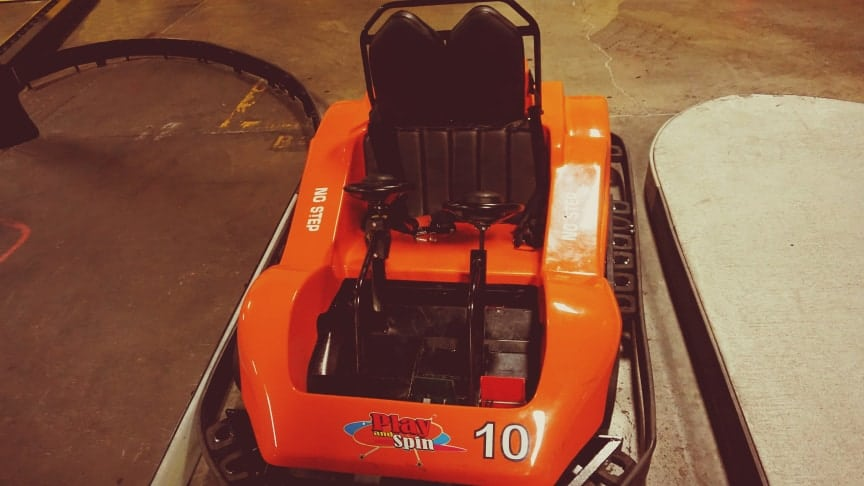 play and spin go kart