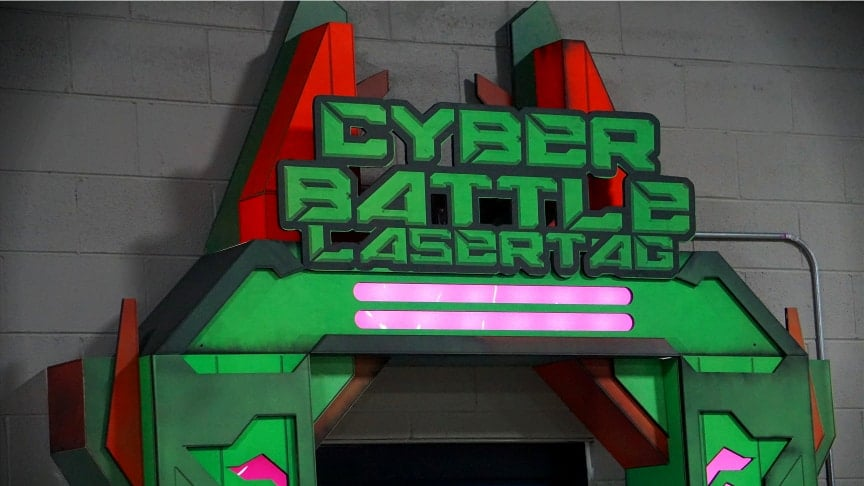 Cyber Battle Laser Tag
